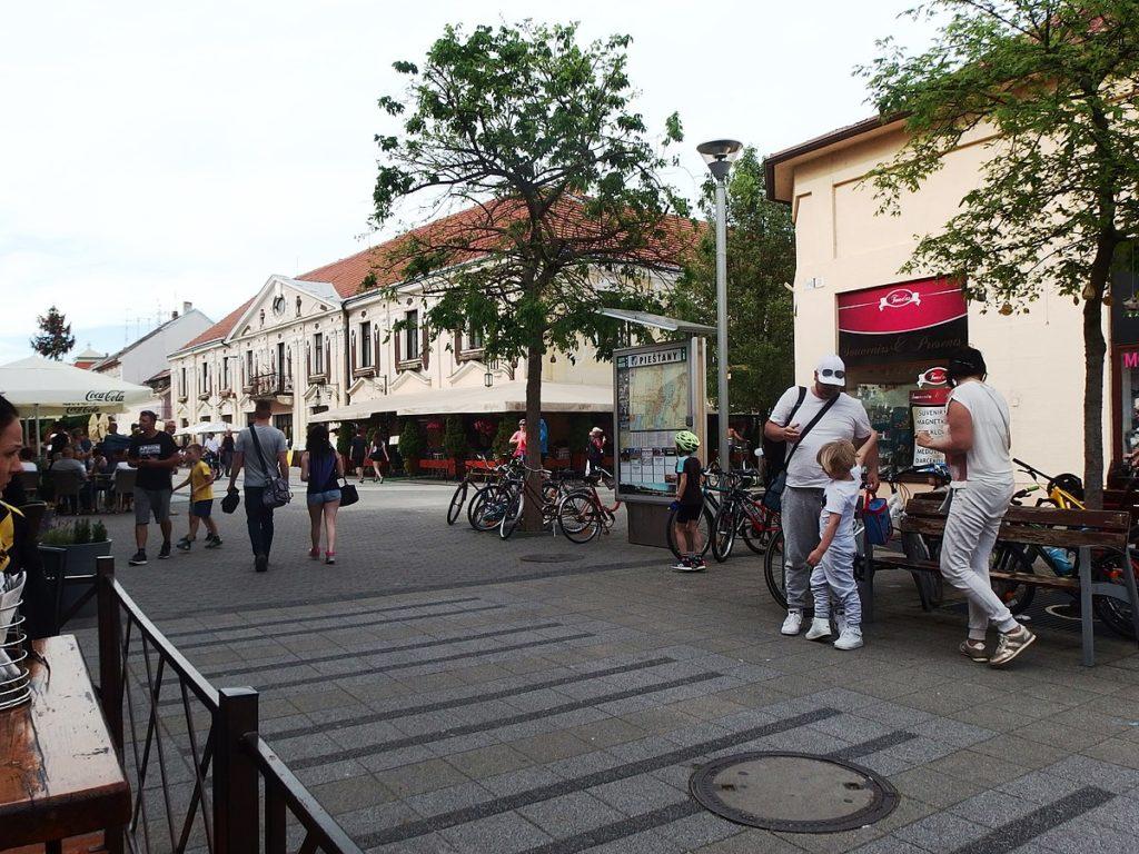 Kupele piestany - winterova ulica